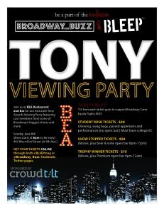 Tony Party poster 2 medium