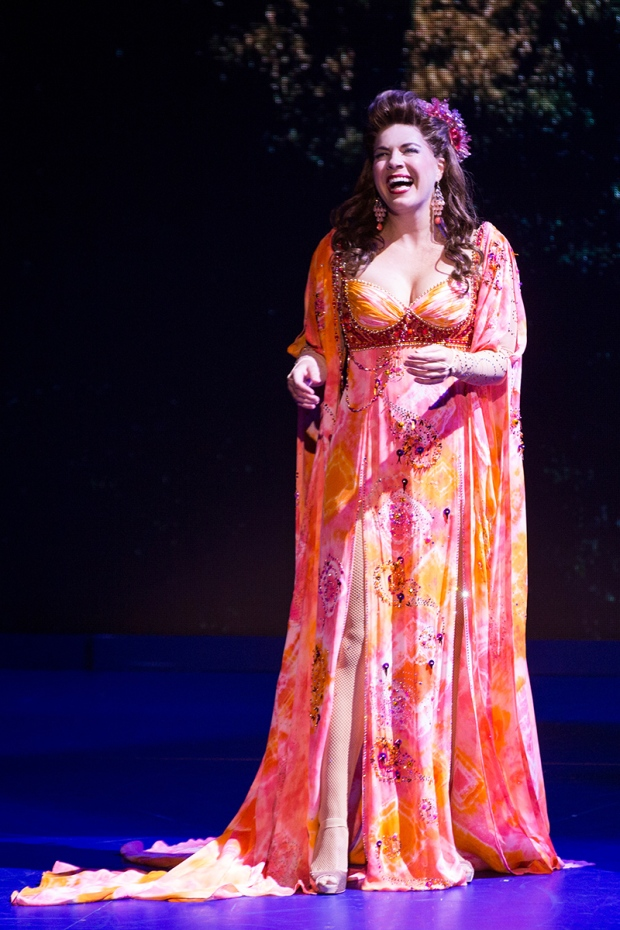Laurie Wells in TRIP OF LOVE, Photo by Matthew Murphy