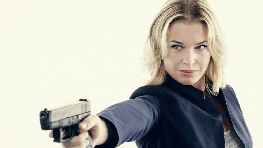 Rebecca Romijn talks The Librarians, Skin Wars, and the importance of ...