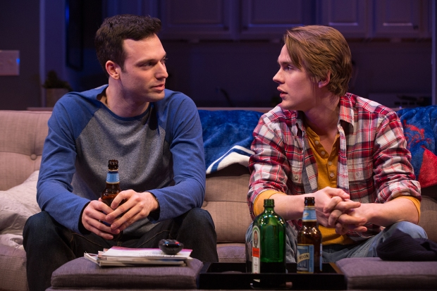 3-Jake Epstein and Thomas E. Sullivan in STRAIGHT, Photo by Matthew Murphy