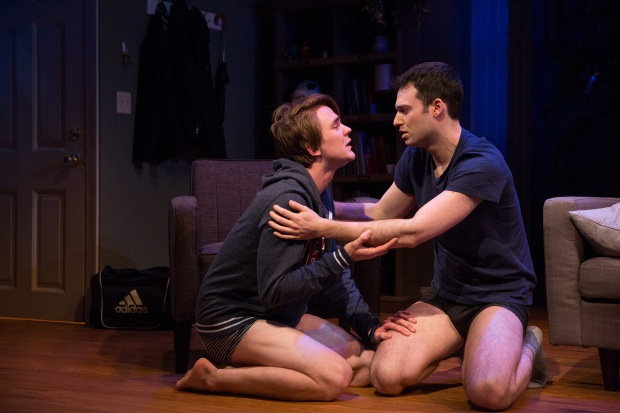 6-Thomas E. Sullivan and Jake Epstein in STRAIGHT, Photo by Matthew Murphy
