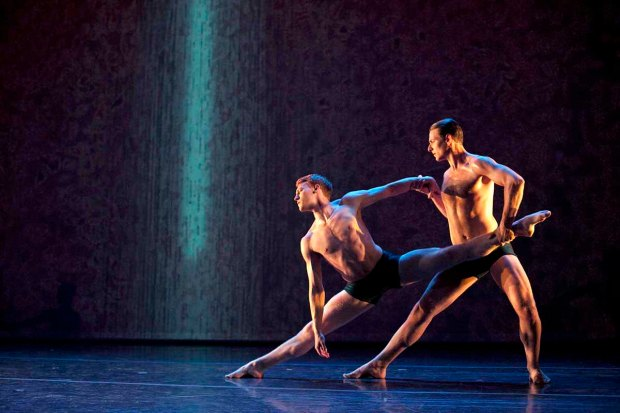 Celestial Tides Dancers Michael Spencer Phillips and Jere Hunt- Whitney Browne