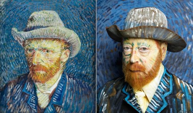 Martha Wilson Van Gogh